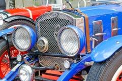 Chiuda su dell'immagine di riserva automobilistica d'annata di Ford Fotografie Stock Libere da Diritti