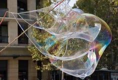 Chiuda su della bolla gigantesca Fotografia Stock Libera da Diritti
