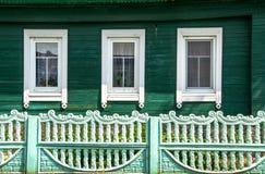 Chiuda su della casa rurale Fotografia Stock