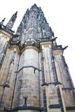 Chiuda su della cattedrale della st Vitus Fotografia Stock