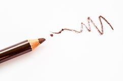 Chiuda su della matita Make up Fotografie Stock