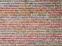 Chiuda su della parete di mattoni arancio immagini stock libere da diritti