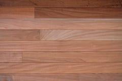 Chiuda su della parete fatta delle plance di legno Fotografia Stock