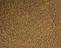 Chiuda su della polvere del caffè istantaneo immagine stock libera da diritti