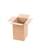 Chiuda su della scatola vuota Fotografia Stock Libera da Diritti