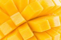 Chiuda su delle fette del mango Fotografia Stock Libera da Diritti