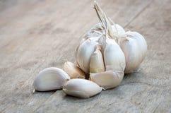 Chiuda su di aglio porpora Immagini Stock Libere da Diritti