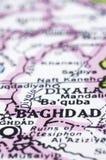 Chiuda in su di Bagdad sul programma, Iraq Immagine Stock Libera da Diritti