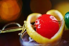 Chiuda su di bello rinfresco red delicious fotografie stock