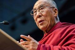 Chiuda in su di Dalai Lama Immagine Stock