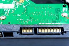 Chiuda su di drive del hard disk Fotografia Stock