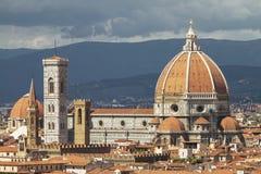 Chiuda su di Florence Cathedral, Italia Fotografia Stock Libera da Diritti