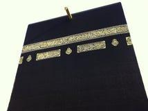 Chiuda in su di Kaabah in La Mecca Immagine Stock