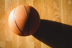 Chiuda su di pallacanestro Immagine Stock Libera da Diritti