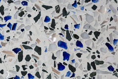 Chiuda su di struttura senza cuciture del granito decorativa, di alta risoluzione Fotografie Stock