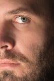 Chiuda su di un fronte del maschio adulto Immagine Stock Libera da Diritti