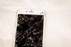 Chiuda su di un iphone 6S del segno Apple inc Fotografia Stock Libera da Diritti