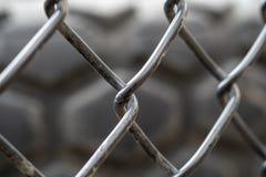 Chiuda su di un recinto del froast immagine stock libera da diritti