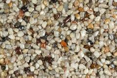 Chiuda su di un tappeto di pietra naturale Fotografie Stock