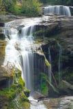 Chiuda in su di una cascata Fotografia Stock Libera da Diritti