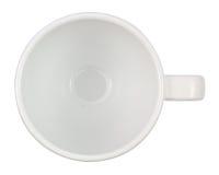 Chiuda su di una cima della tazza da caffè Fotografia Stock