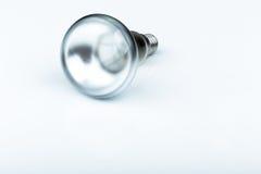 Chiuda su di una lampadina dell'alogeno Fotografia Stock Libera da Diritti