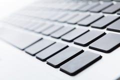 Chiuda in su di una tastiera Fotografie Stock Libere da Diritti