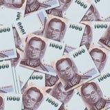Chiuda su di valuta della Tailandia, Fotografie Stock Libere da Diritti