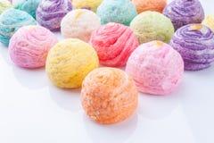 Chiuda su, dolci dell'arcobaleno Fotografia Stock