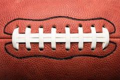 Chiuda su football americano immagini stock libere da diritti