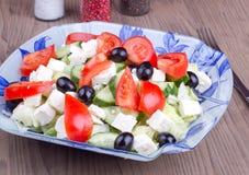 Chiuda su insalata Immagini Stock Libere da Diritti