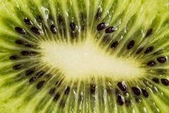 Chiuda su Kiwi Fruit verde come fondo Fotografia Stock