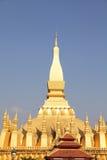 Chiuda su Pha che Luang Immagini Stock Libere da Diritti