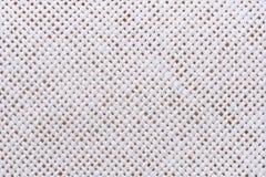 Chiuda su struttura del tessuto della paglia Fotografia Stock