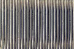 Chiuda su struttura dell'unità del condensatore del condizionamento d'aria dell'automobile Radiatore delle attrezzature di comuni immagine stock libera da diritti