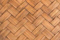 Chiuda su struttura trasversale di bambù di lerciume Immagine Stock