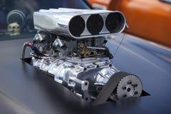 Chiuda in su su un compressore della macchina da corsa Immagine Stock Libera da Diritti