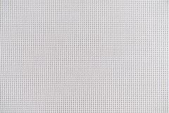 Chiuda su tessitura di plastica bianca, struttura di vimini della stuoia Fotografie Stock