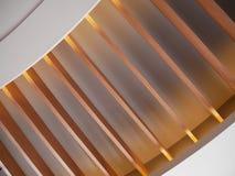 Chiuda su vecchia struttura di legno del soffitto di marrone di legno di progettazione Fotografia Stock Libera da Diritti