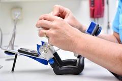 Chiuda sugli igienisti del dente Fotografie Stock Libere da Diritti
