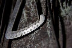 Chiuda sugli strumenti dei gioielli fotografia stock