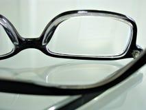 Chiuda sul colpo dei vetri dell'occhio Fotografia Stock
