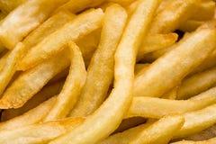 Le patate fritte si chiudono su immagine stock libera da diritti