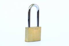 Chiuda sul colpo di vecchia serratura  Fotografia Stock Libera da Diritti