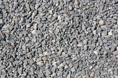 Chiuda sul fondo grigio della ghiaia del granito Immagine Stock Libera da Diritti