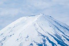 Chiuda sul monte Fuji in primavera Fotografia Stock Libera da Diritti