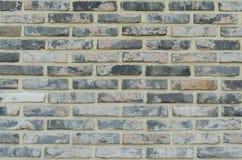 Chiuda sul muro di mattoni Immagini Stock Libere da Diritti
