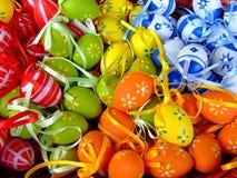 Chiuda sul tiro delle uova di Pasqua Immagine Stock