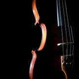 Chiuda sul violino Fotografia Stock