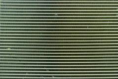 Chiuda sull'aletta di raffreddamento dell'aria dei compressori fotografia stock